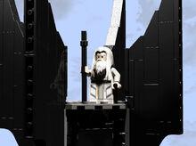Saruman atop Orthanc