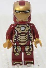 Iron man mark 42 lego
