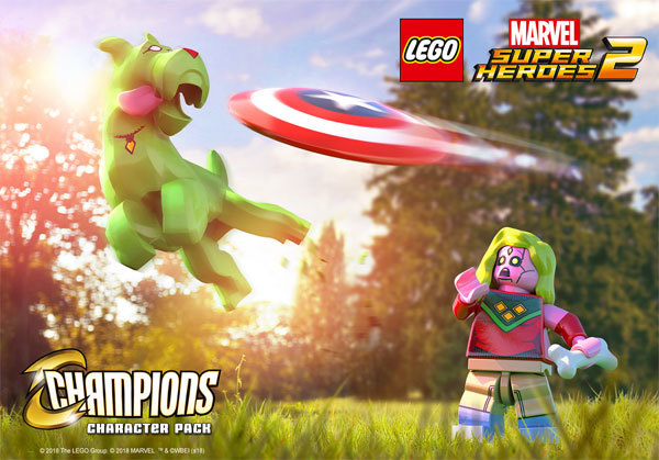 Champions Character Pack | Lego Marvel Superheroes 2 Wiki | FANDOM