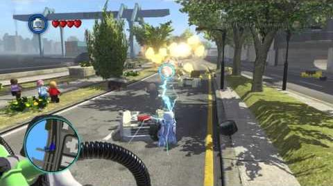 LEGO Marvel Super Heroes The Video Game - Electro free roam