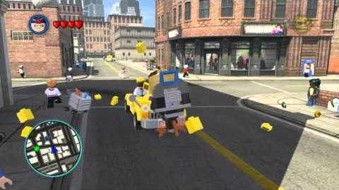 LEGO Marvel Super Heroes The Video Game - M.O.D.O.K. free roam