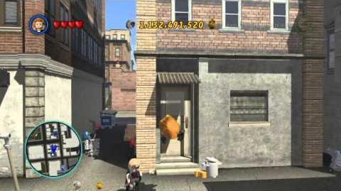 LEGO Marvel Super Heroes The Video Game - Black Widow free roam