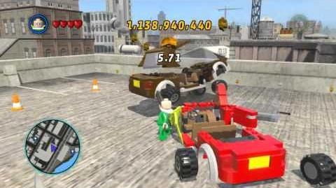 LEGO Marvel Super Heroes The Video Game - Vulture free roam