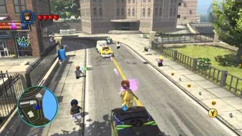 LEGO Marvel Super Heroes The Video Game - Gambit free roam