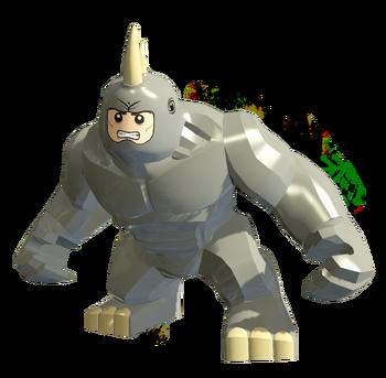 marvel lego rhino
