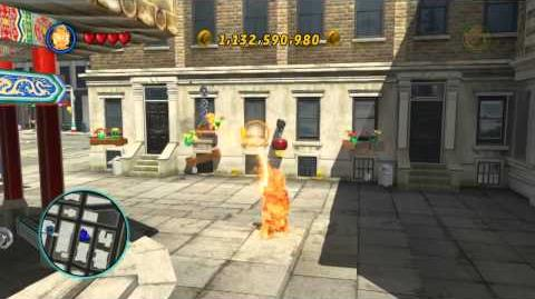 LEGO Marvel Super Heroes The Video Game - The Human Torch free roam
