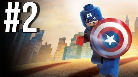 Video - Lego Marvel Superheroes Walkthrough Part 2 Let's