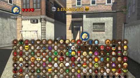 LEGO Marvel Super Heroes The Video Game - Mr Fantastic free roam-0