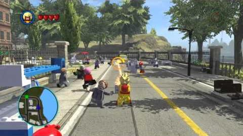 LEGO Marvel Super Heroes The Video Game - Pyro free roam