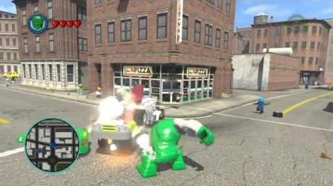 LEGO Marvel Super Heroes The Video Game - Doombot V-Series free roam