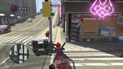 Video - LEGO Marvel Super Heroes The Video Game - Deadpool free roam ...