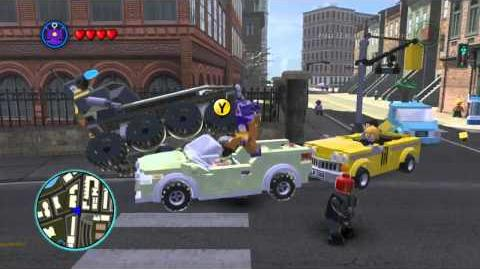 LEGO Marvel Super Heroes The Video Game - Arnim Zola free roam