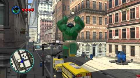 LEGO Marvel Super Heroes The Video Game - Hulk free roam