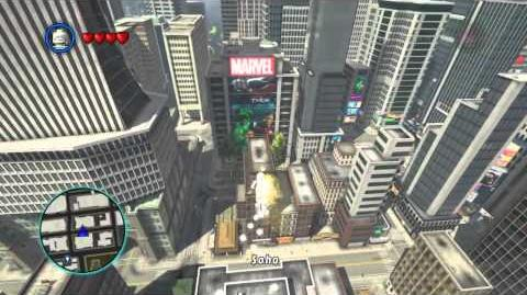 LEGO Marvel Super Heroes The Video Game - Silver Surfer free roam