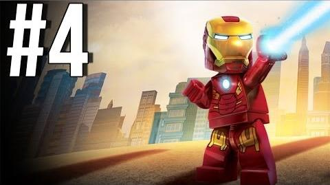 Lego Marvel Superheroes Walkthrough Part 4 Let's Play Gameplay Playthrough XBOX360 PS3 PC