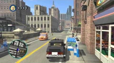 LEGO Marvel Super Heroes The Video Game - Emma Frost free roam