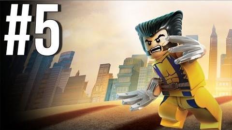 Lego Marvel Superheroes Walkthrough Part 5 Let's Play Gameplay Playthrough XBOX360 PS3 PC