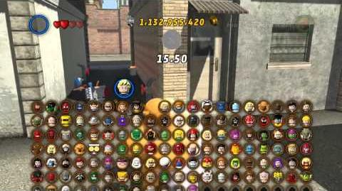 LEGO Marvel Super Heroes The Video Game - The Thing free roam