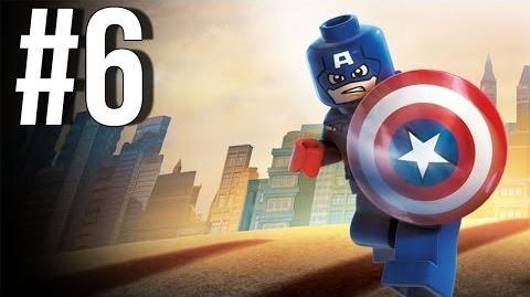 Lego Marvel Superheroes Walkthrough Part 6 Let's Play Gameplay Playthrough XBOX360 PS3 PC