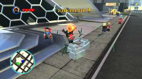 LEGO Marvel Super Heroes The Video Game - Dormammu free roam