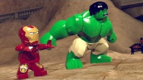 Video - LEGO Marvel Super Heroes Walkthrough 1 - Sand