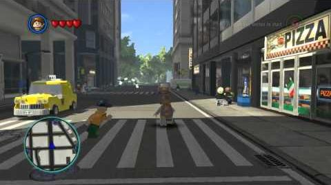 LEGO Marvel Super Heroes The Video Game - Squirrel Girl free roam