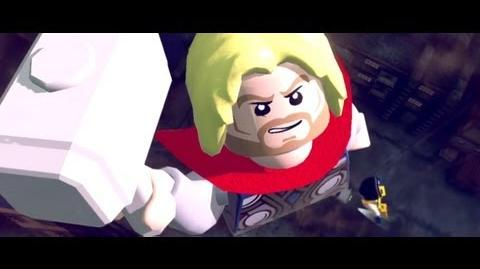 LEGO Marvel Super Heroes - Gamescom Trailer