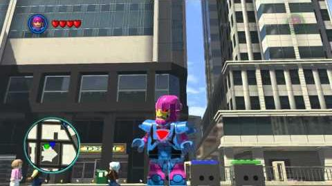 LEGO Marvel Super Heroes The Video Game - Mini Sentinel free roam