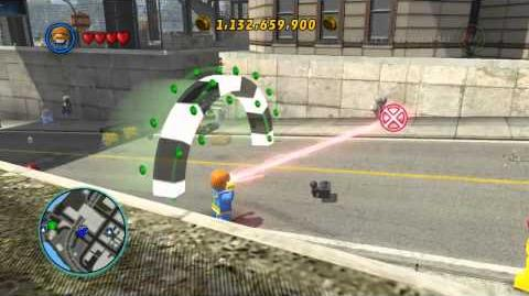 LEGO Marvel Super Heroes The Video Game - Cyclops free roam