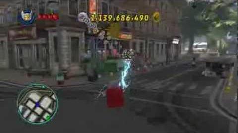 LEGO Marvel Super Heroes The Video Game - Beta Ray Bill free roam