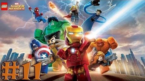 LEGO Marvel Super Heroes - Walkthrough - Part 11 - Taking Liberties (X360) HD
