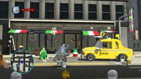 LEGO Marvel Super Heroes The Video Game - Silver Samurai free roam