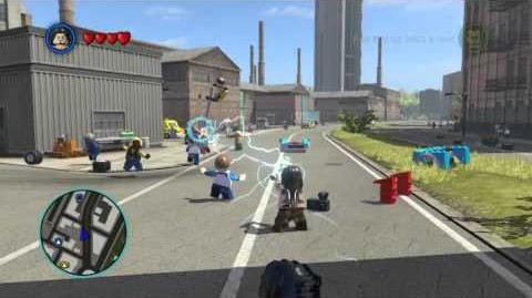 LEGO Marvel Super Heroes The Video Game - Whiplash free roam