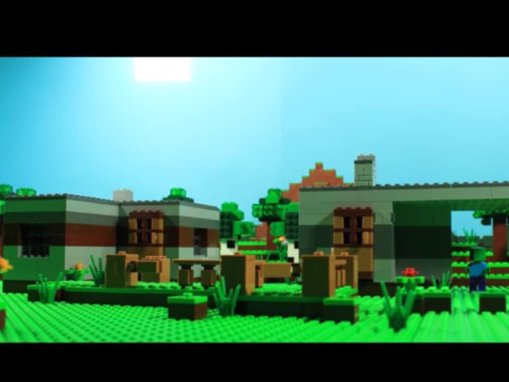 Zombie Infested Village | Lego Minecraft Stop Motion Wikia | FANDOM ...