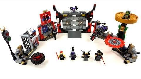 LEGO Ninjago Set 70640 - Hauptquartier der Motorradfahrer Review deutsch