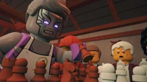 Zanes Schachspiel - LEGO NINJAGO - Wu's Tee Episode 18