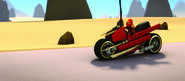Kais Feuer-Bike
