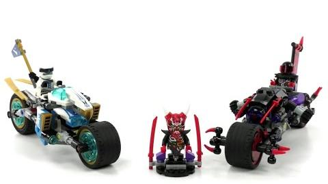 LEGO Ninjago Set 70639 - Straßenrennen des Schlangenjaguars Review deutsch