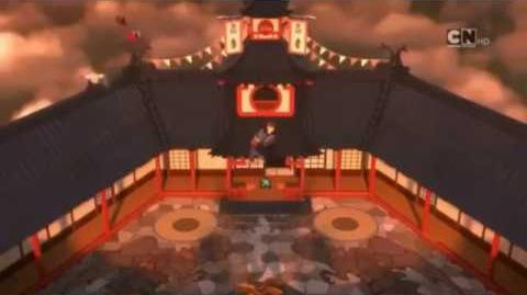 Ninjago *Meister der Zeit* bei *Cartoon Network*