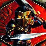 Hero Cole mit Schwertern