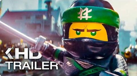 THE LEGO NINJAGO MOVIE Trailer German Deutsch (2017)