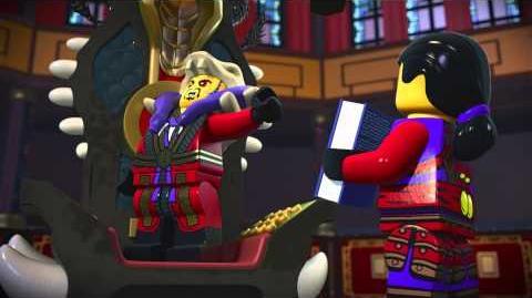 LEGO® NINJAGO Meister Chens neuer Stuhl