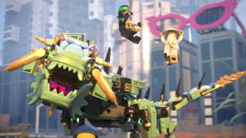 Green Ninja Mech Dragon - LEGO NINJAGO Movie - 70612 - Product Animation