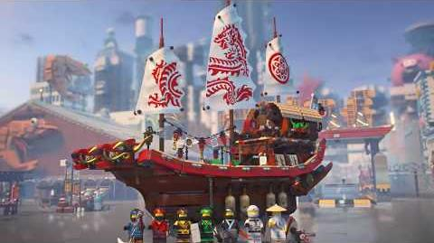 Destiny's Bounty - LEGO NINJAGO Movie - 70618 - Product Animation