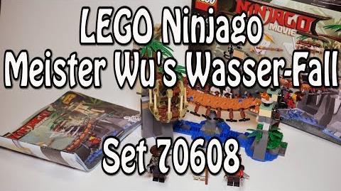 LEGO Ninjago Movie Meister Wu's Wasser-Fall (Set 70608 Master Falls Review deutsch)