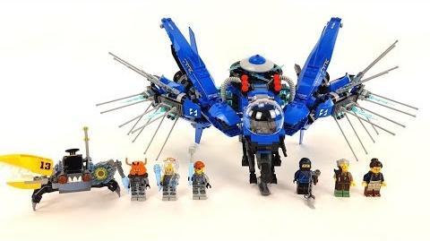 The LEGO Ninjago Movie Set 70614 - Jay's Jet-Blitz Unboxing & Review deutsch