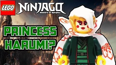 Ninjago Season 8 Who Is Princess Harumi?