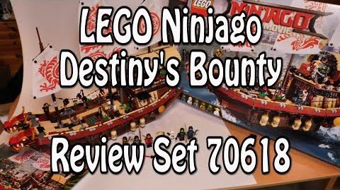 LEGO Ninja Flugsegler (Ninjago Movie Set 70618 Destiny's Bounty Review deutsch)