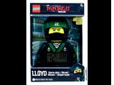 5005368 The Lego Ninjago Movie Lloyd Minifigur-Wecker