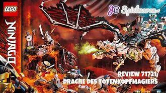 71721 LEGO Ninjago Drache des Totenkopfmagiers im exklusiven Review bei JB Spielwaren